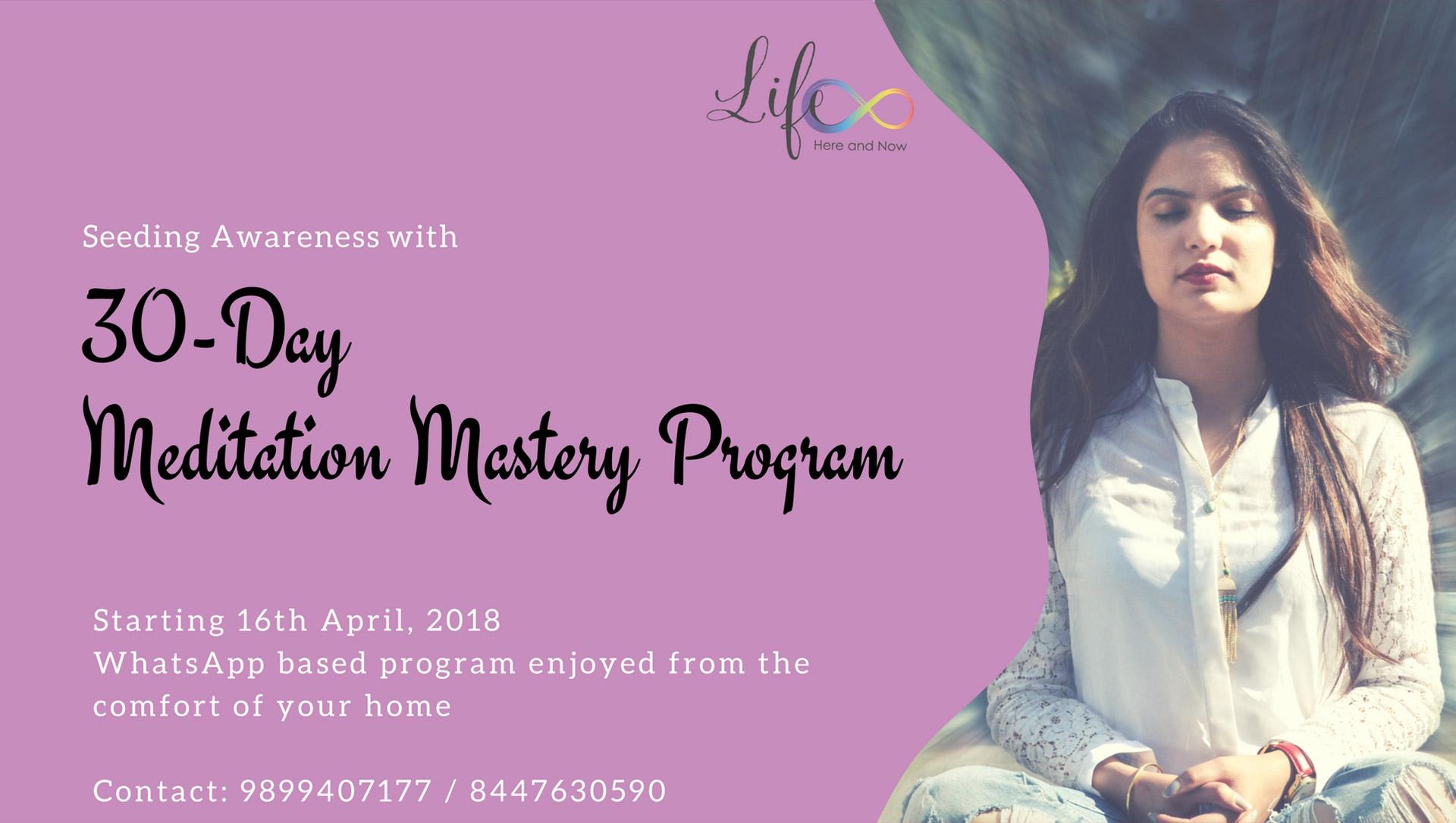 30-Day Meditation Mastery Program