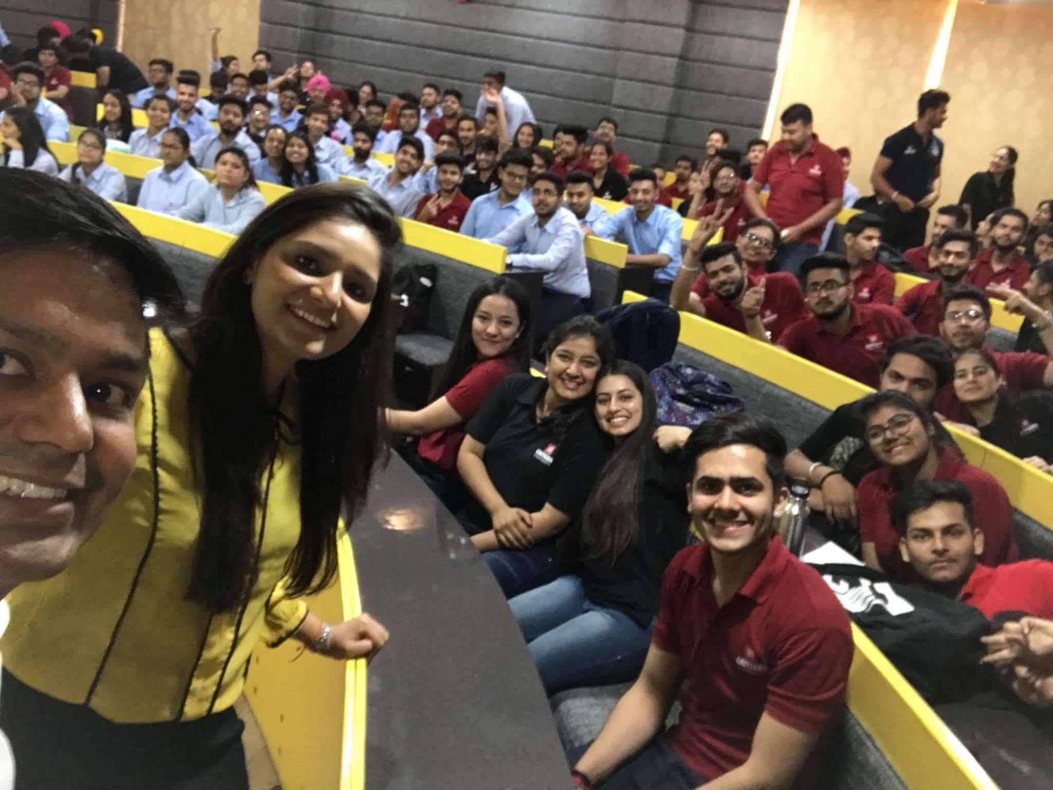 Workshop at Chitkara University