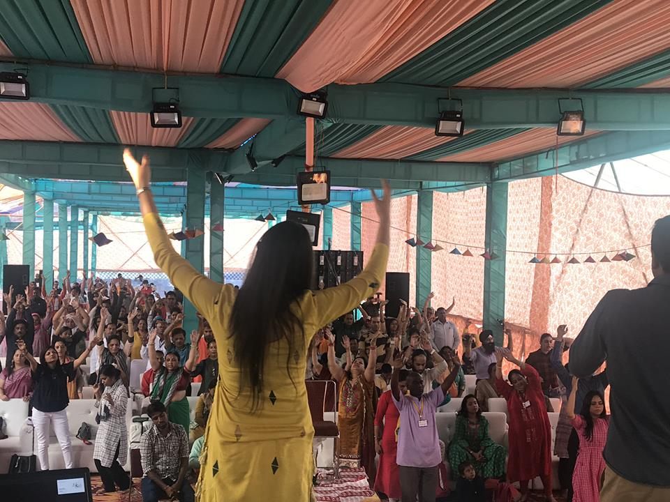 At MahaYog Dhyana Kumbh – Rishikesh (2018)