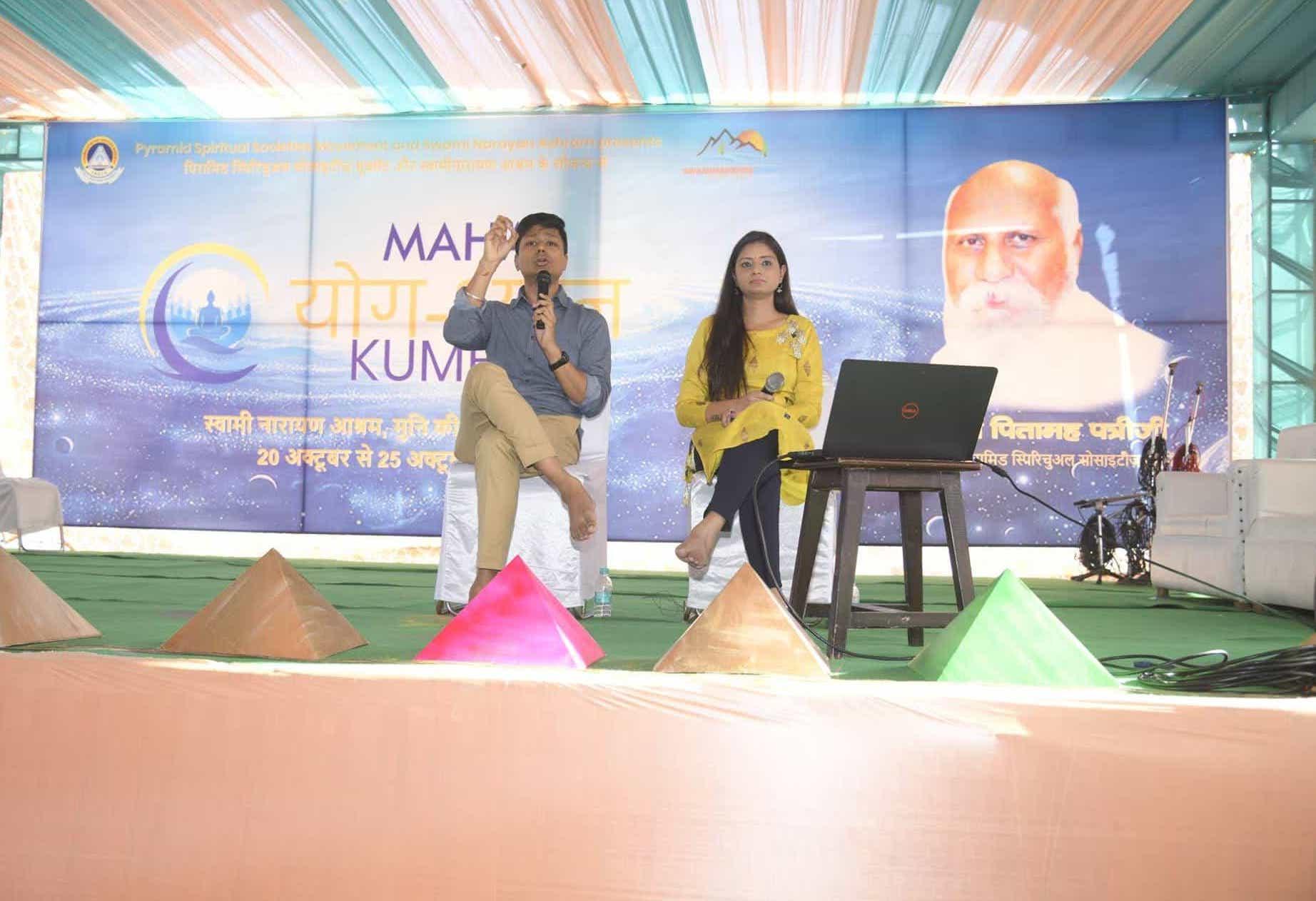 At MahaYog Dhyana Kumbh – Rishikesh (2018)
