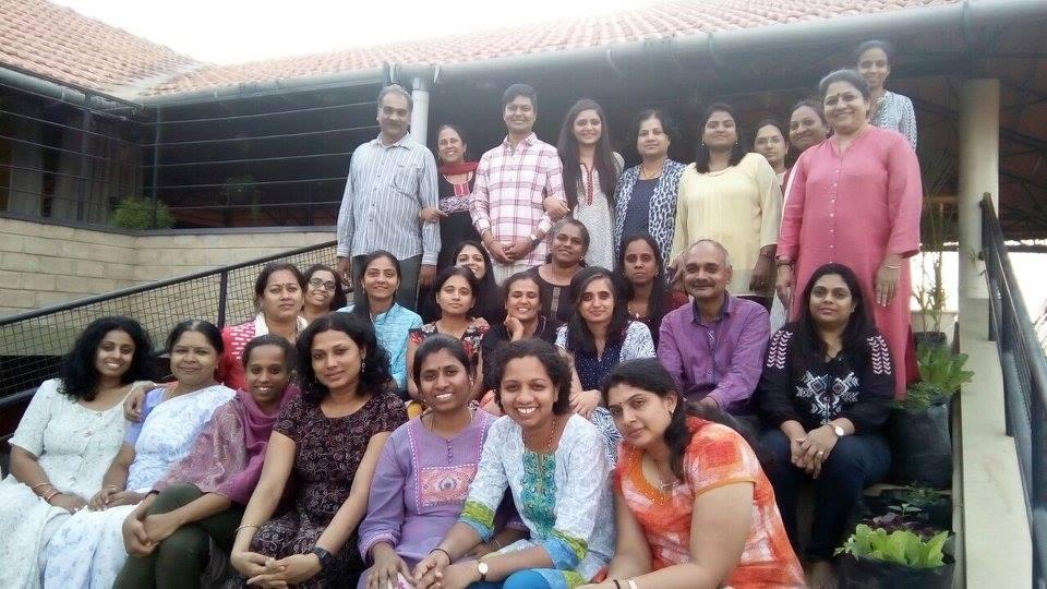 Family Constellation Workshop at Creative School, Bangalore (2017)