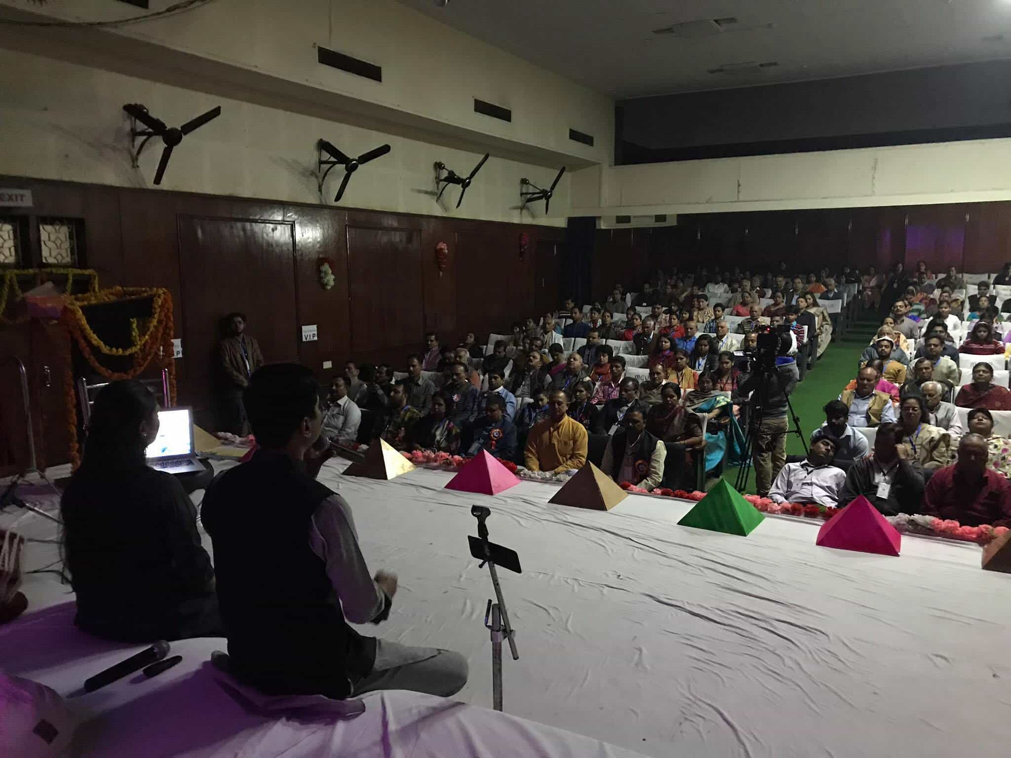 Past Life Regression Session at National Congress of Spiritual Scientists