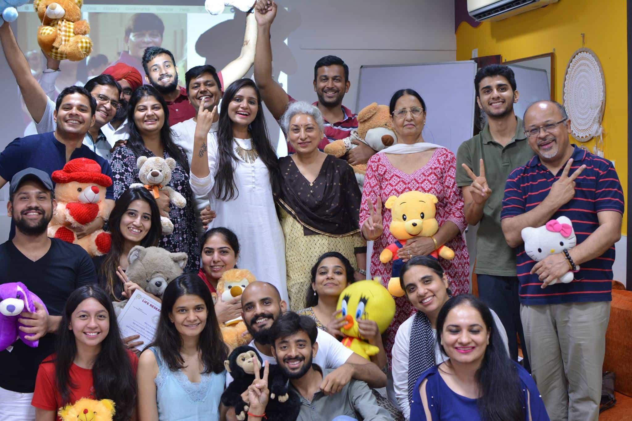 Inner Child Workshop – Delhi (2018)