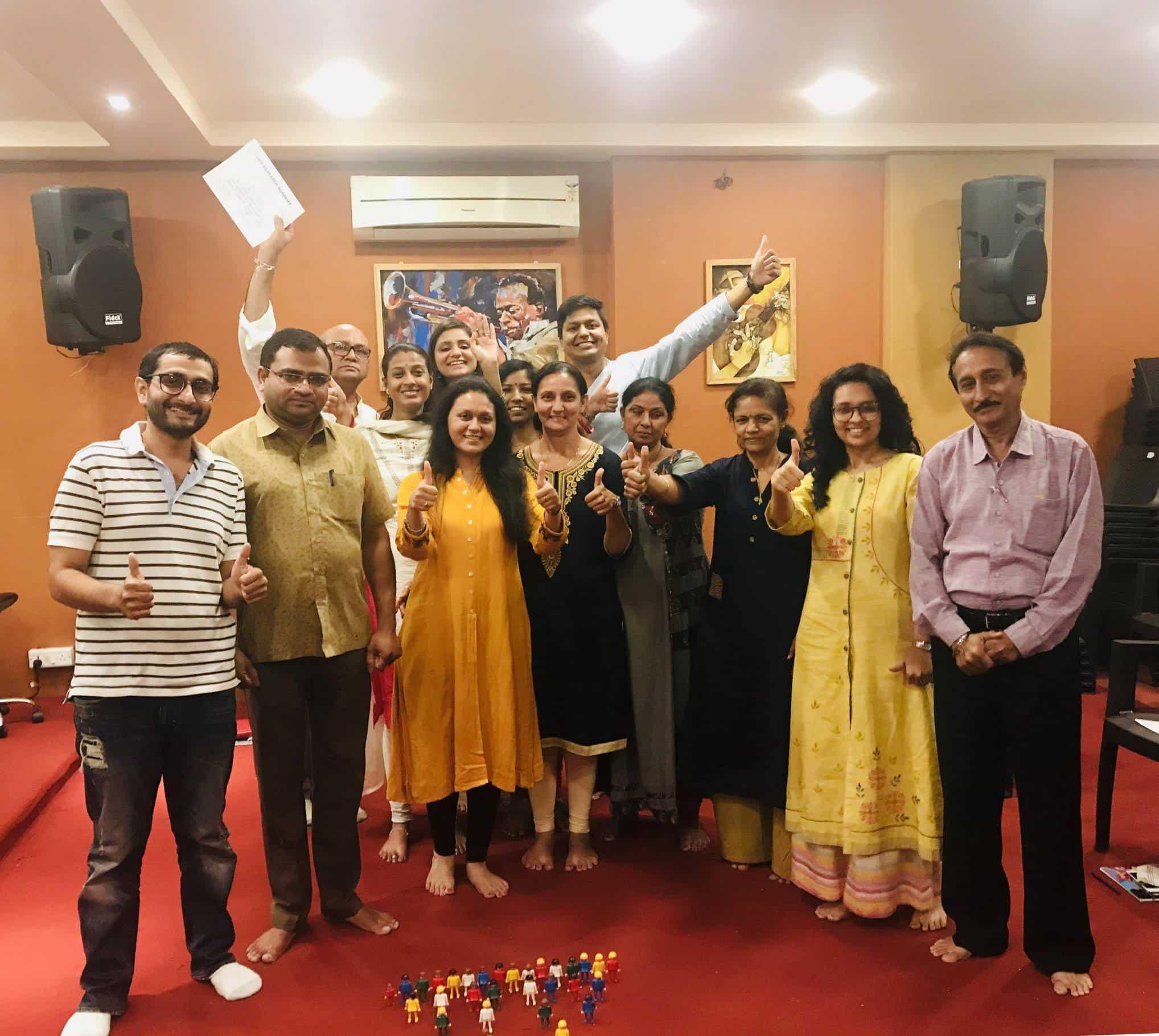 Family Constellation Workshop – Ahmedabad (2018)