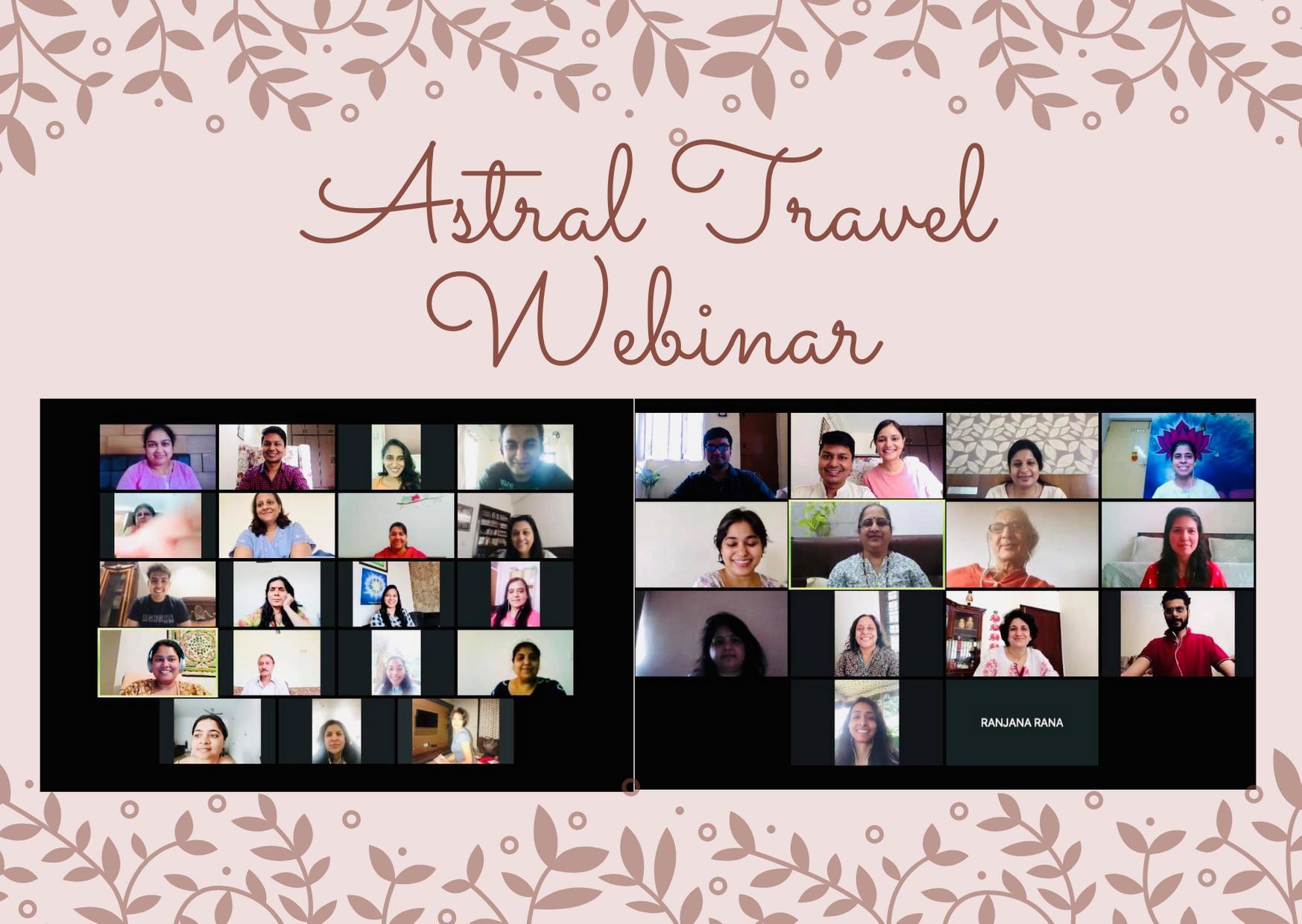 Astral Travel Webinar (2020)